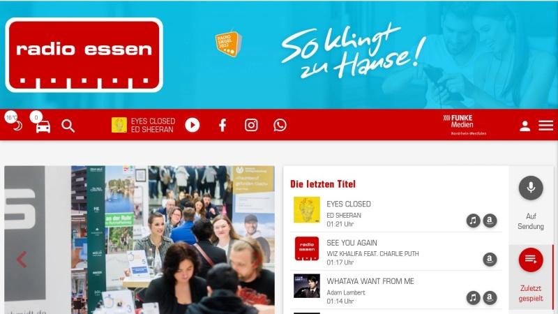 www.radioessen.de Vorschau, Radio Essen