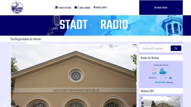 www.radiolotte.de Vorschau, Radio LOTTE