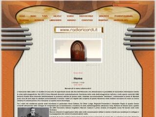 screenshot radioricordi.it