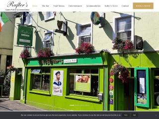 Screenshot for rafterdempseys.ie