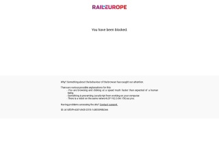 Captura de pantalla para raileurope.com.bo