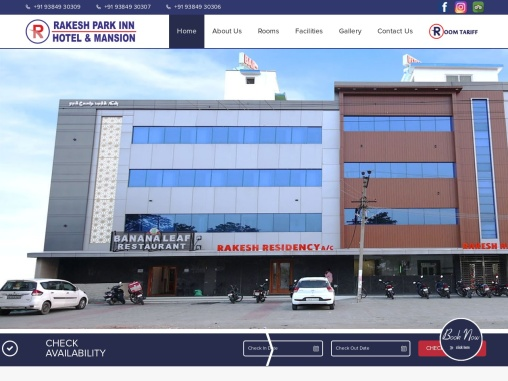 Hotel reservation in Perambalur