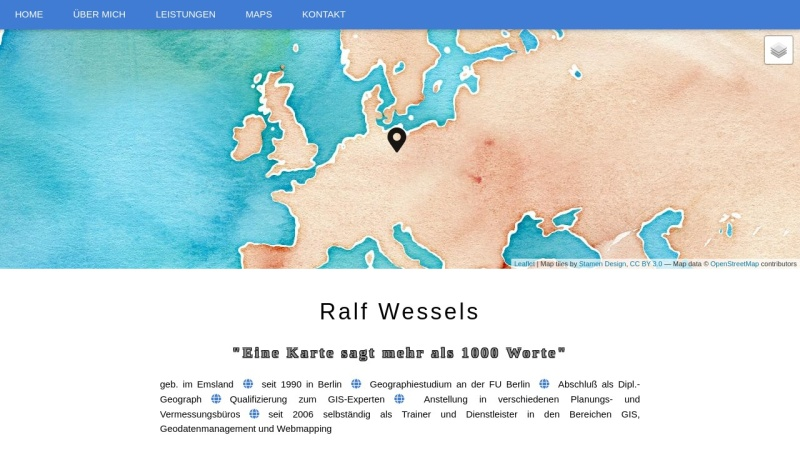 www.ralf-wessels.de Vorschau, Ralf Wessels