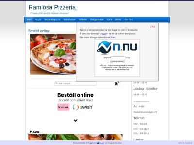 www.ramlosapizzeria.n.nu