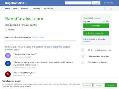 http://www.rankcatalyst.com/