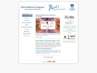 Captura de pantalla para rau.edu.uy