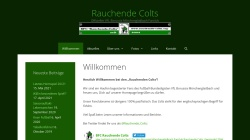 www.rauchende-colts.org Vorschau, Fanclub Rauchende Colts
