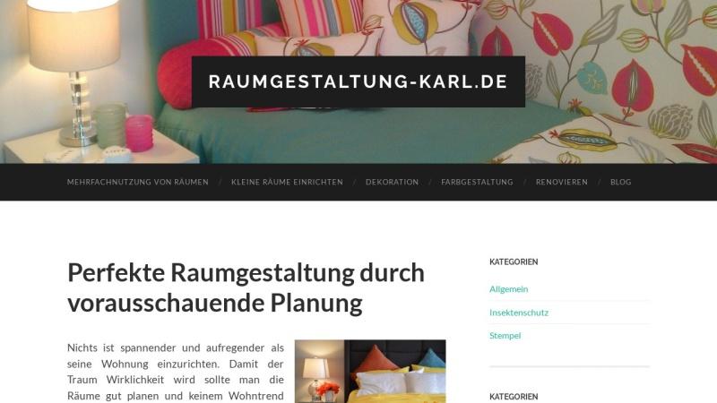 www.raumgestaltung-karl.de Vorschau, Karl Raumgestaltung, Mühlheim