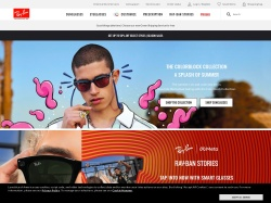Ray-Ban Coupon Codes screenshot