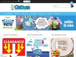 GEDDES Coupons June 2018