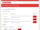 best-membrane-waterproofing-in-india