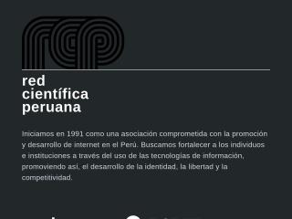 Captura de pantalla para rcp.pe