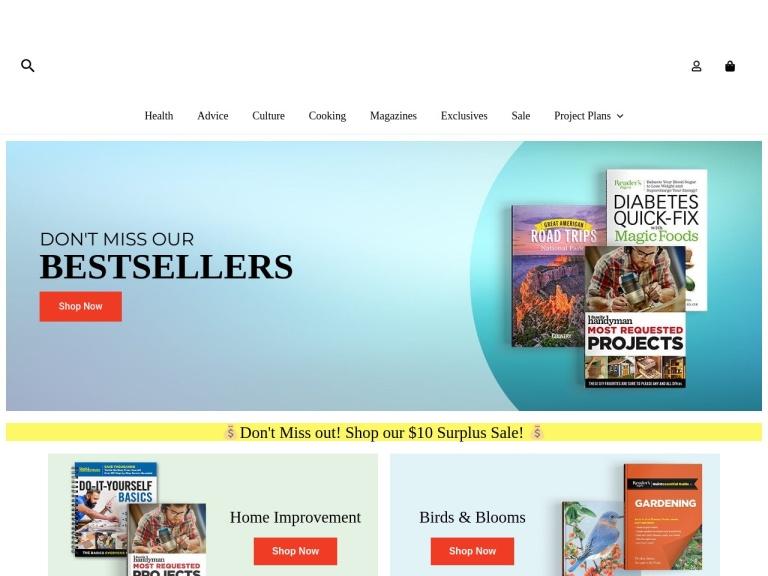 RDstore.com (Readers Dige Coupon Codes