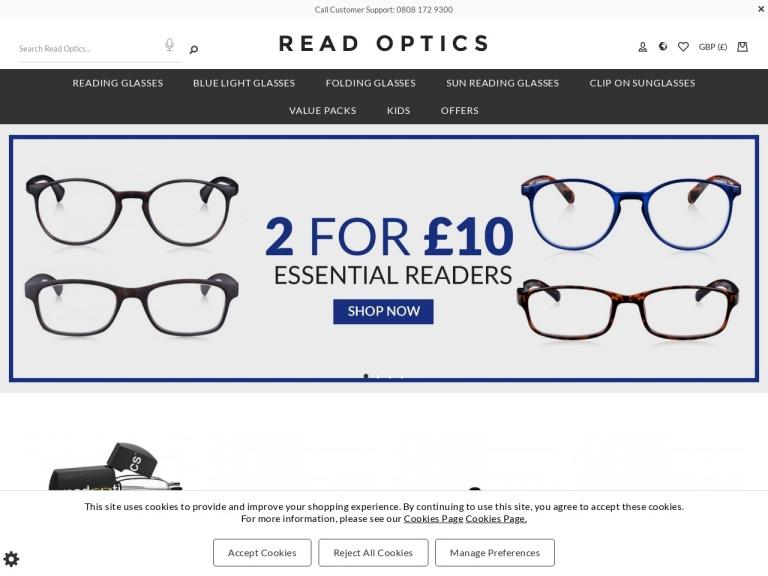 Read Optics screenshot