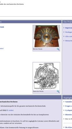 Vorschau der mobilen Webseite www.rechnerlexikon.de, Rechnerlexikon