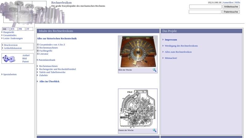 www.rechnerlexikon.de Vorschau, Rechnerlexikon