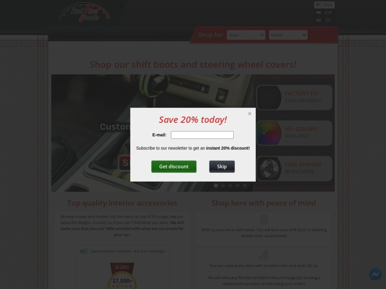 Redline Automotive Accessories Corp.