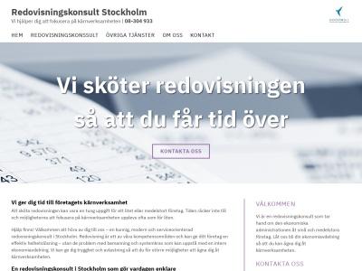 www.redovisningskonsultstockholm.net
