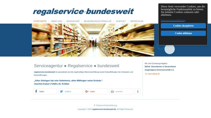 www.regalservice-bundesweit.de Vorschau, Regalservice-bundesweit Stövesand GbR