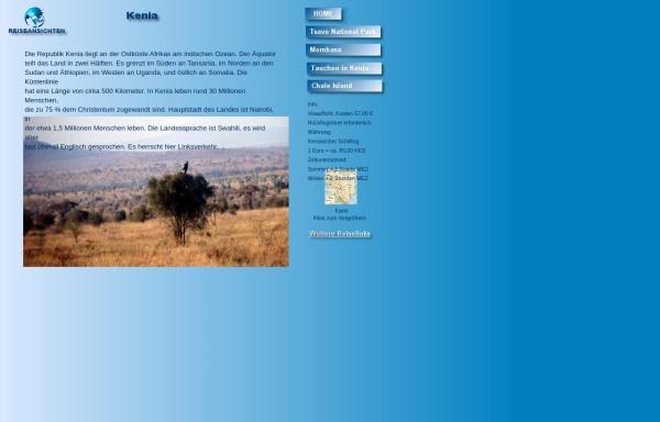 Vorschau von www.reiseansichten.de, Reiseansichten Kenia [Claus Obereich]