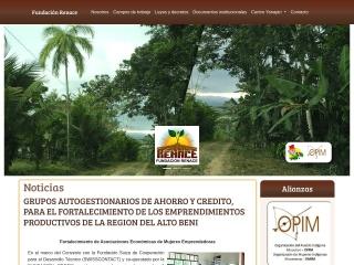 Captura de pantalla para renacebolivia.org.bo