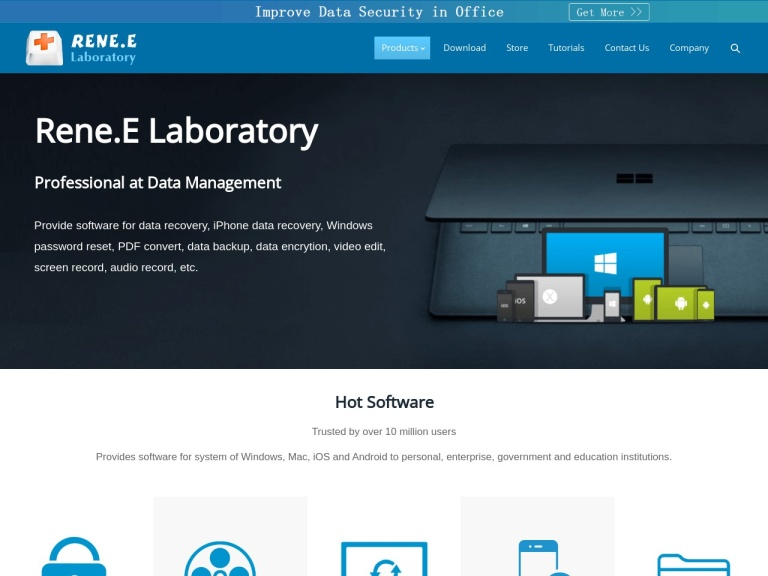 Rene.E Laboratory screenshot