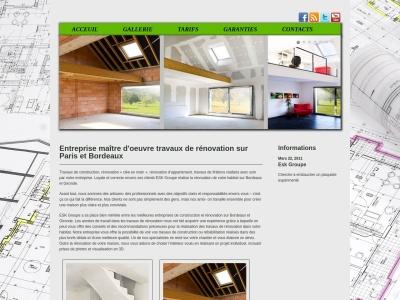 Entreprise, travaux de rénovation sur Bordeaux