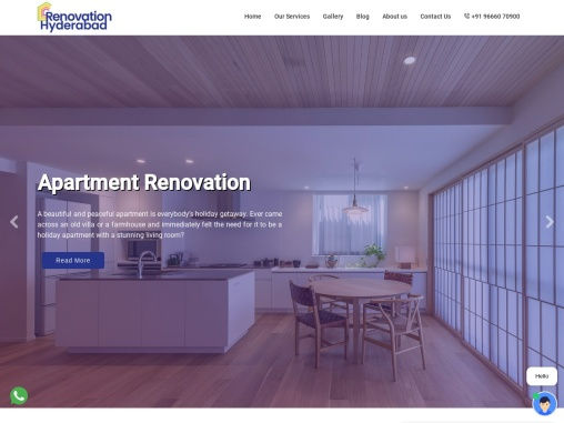 Renovation services in Hyderabad
