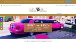www.rent-a-limo.net Vorschau, Rent A Limo - Limousinenservice Dennis Coolhaas & Maximilian Bienefeld GbR
