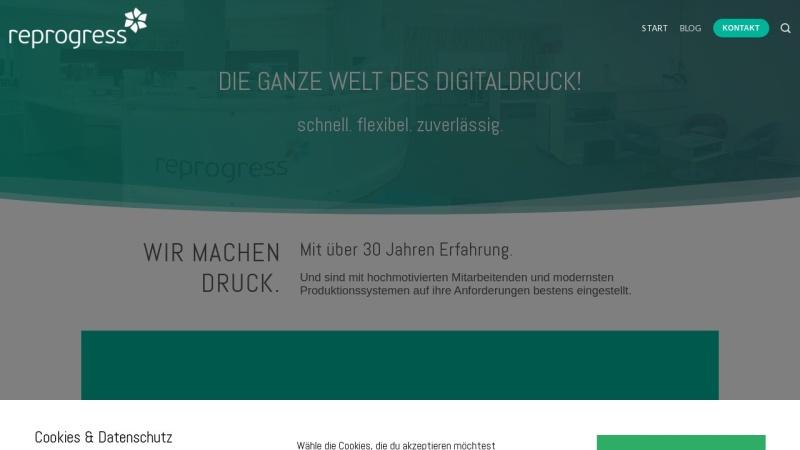 www.reprogress.de Vorschau, reprogress GmbH