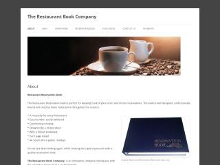 Screenshot for restaurantbooks.co.za