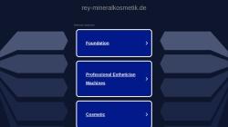 www.rey-mineralkosmetik.de Vorschau, R.E.Y. Mineralkosmetik