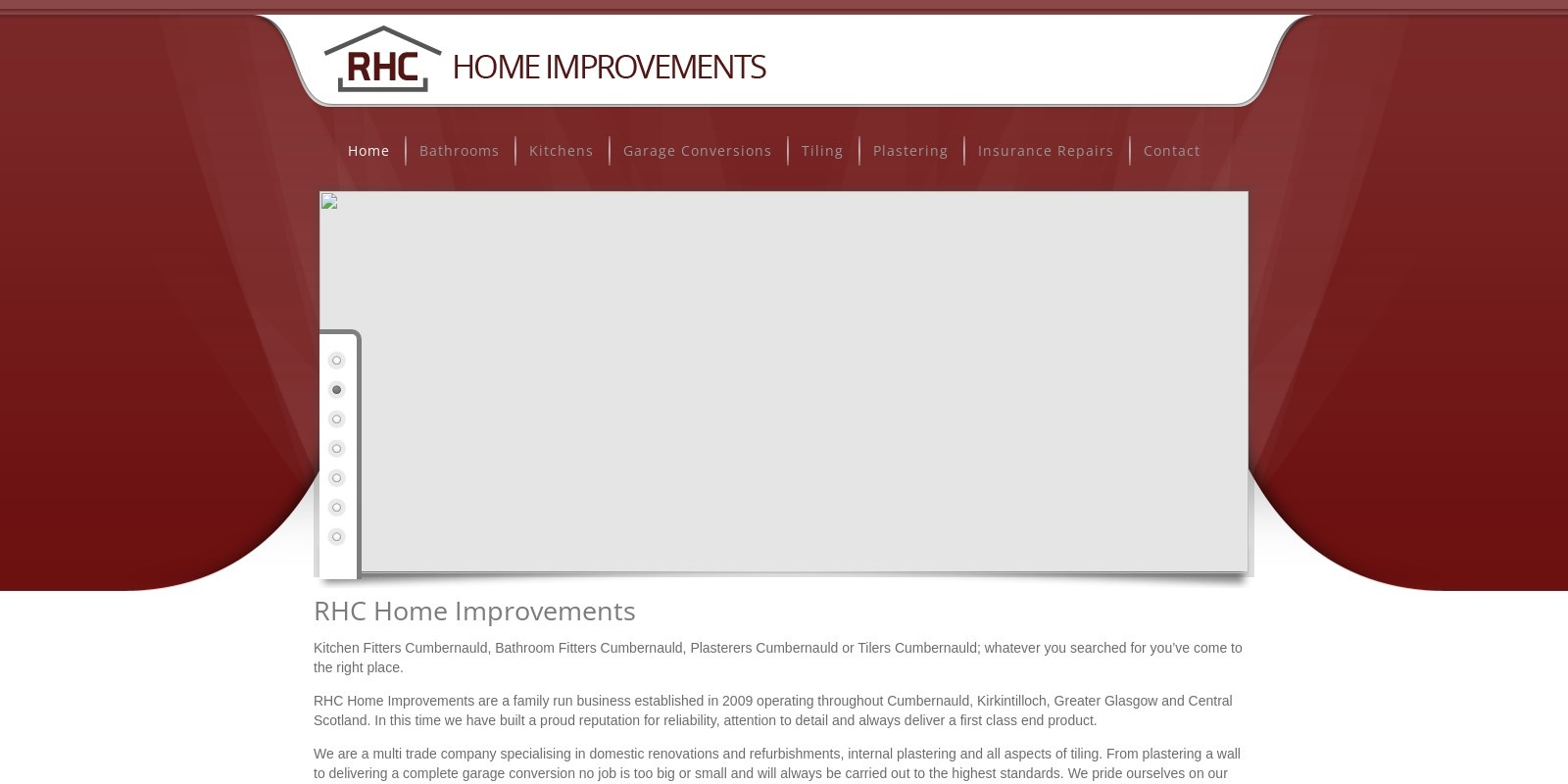 Preview of http://www.rhchomeimprovements.co.uk