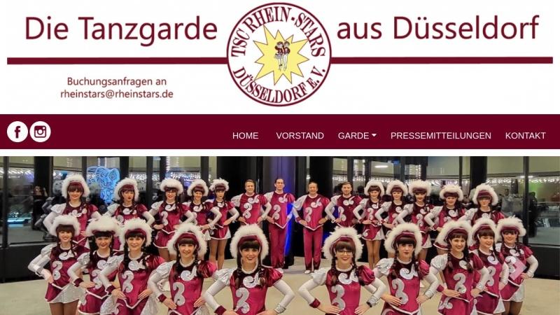 www.rheinstars.de Vorschau, TSC Rhein-Stars
