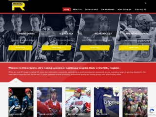 Screenshot for rhinosports.co.uk