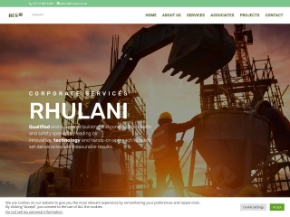 Screenshot for rhulani.co.za