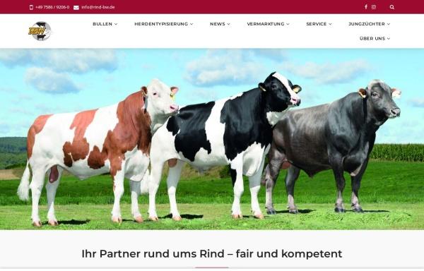 Vorschau von www.rind-bw.de, Rinderunion Baden-Württemberg e.V.