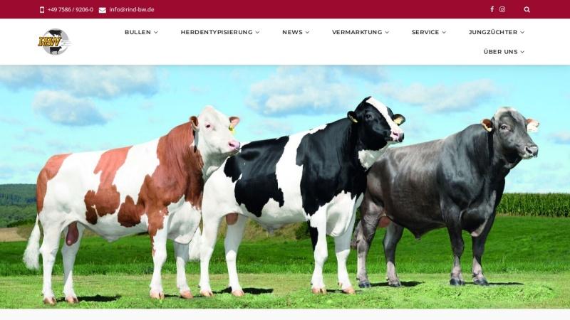 www.rind-bw.de Vorschau, Rinderunion Baden-Württemberg e.V.