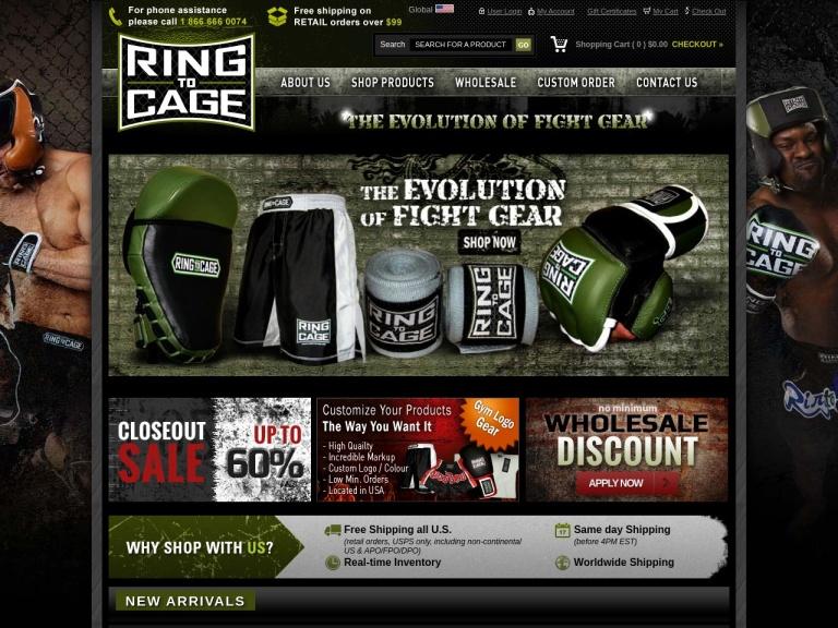 Ring To Cage screenshot