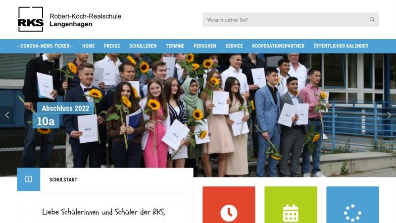 www.rks-langenhagen.de Vorschau, Robert-Koch-Realschule Langenhagen - Stadt Langenhagen