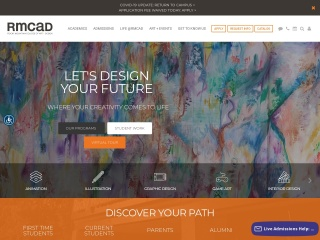 Screenshot for rmcad.edu