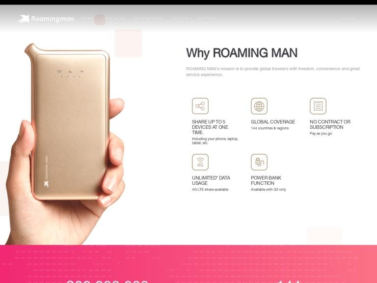 ROAMING MAN (uCloudlink America Ltd.) screenshot