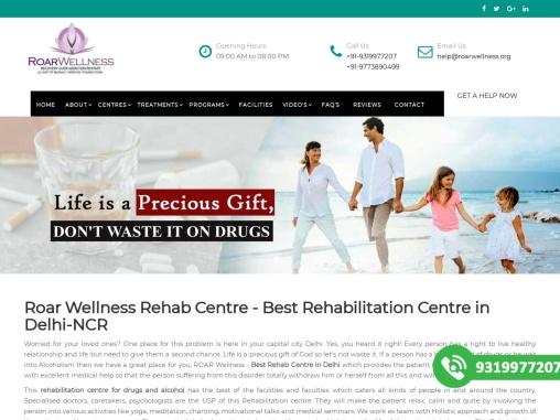 Roar wellness delhi-roar rehab-Roarwellness