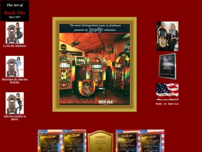 Jukebox de luxe chez Rock-Ola.fr