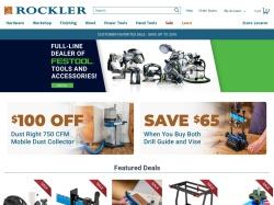 Rockler screenshot