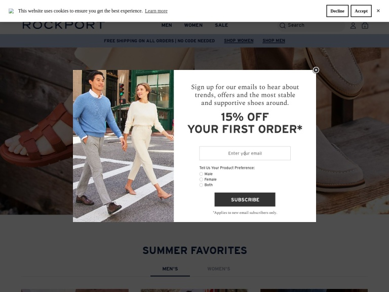 Rockport Coupon Codes