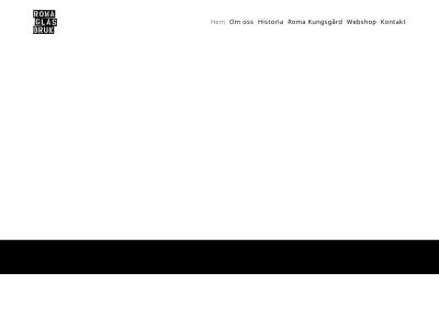 www.romaglasbruk.se