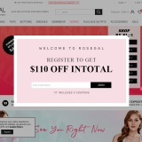 Up to 80% off at RoseGal