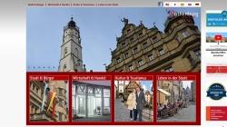 www.rothenburg.de Vorschau, Offizielle Homepage von Rothenburg ob der Tauber