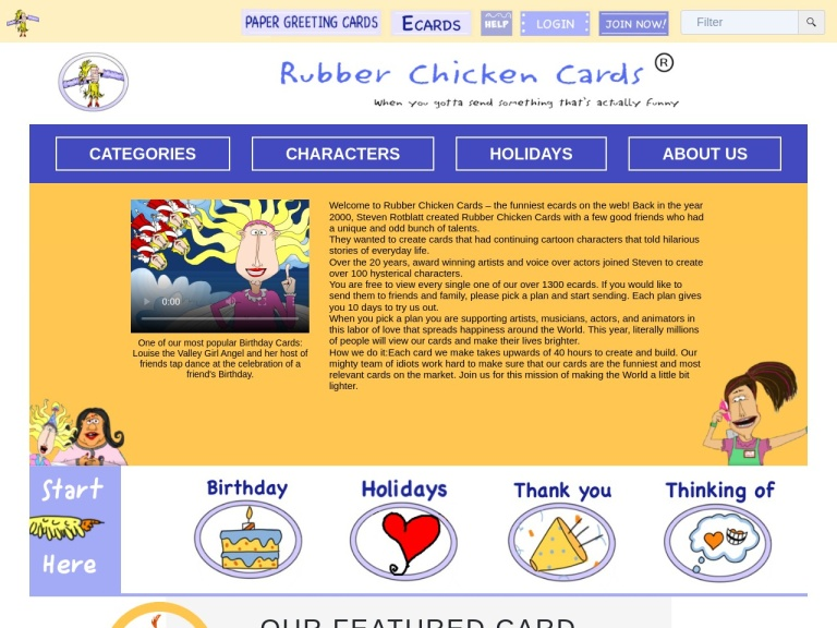 Rubber Chicken Cards Coupon Codes